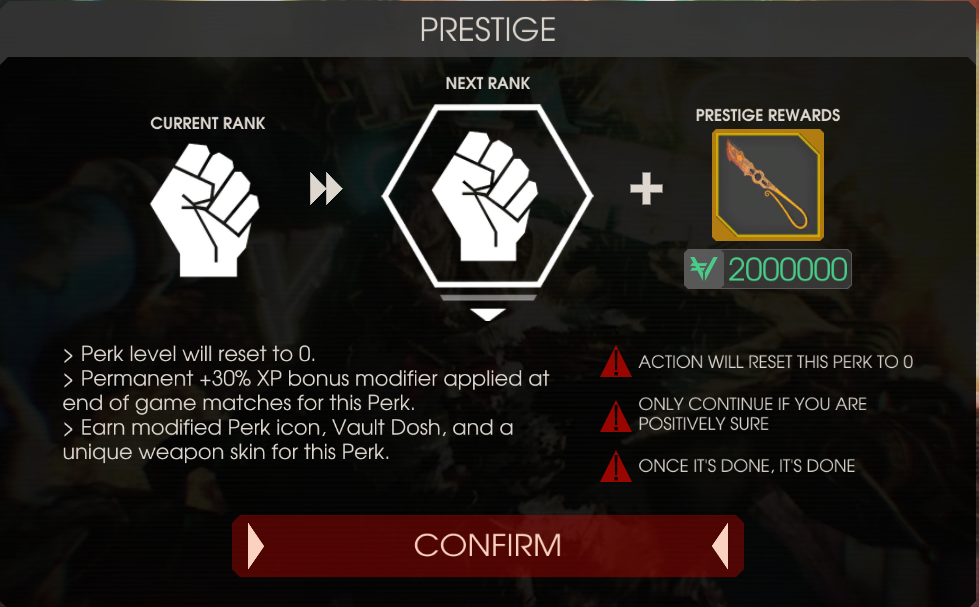 Prestige | Killing Floor Wiki | FANDOM powered by Wikia
