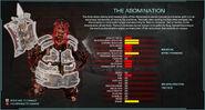 Zed statssheet abomination