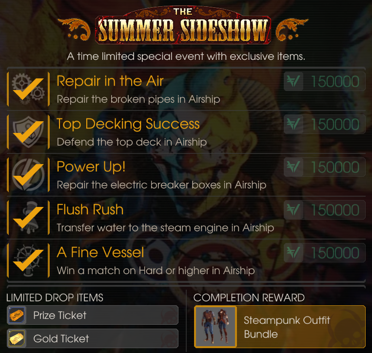 Killing Floor 2 Incursion: Steampunk Outfit Bundle