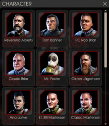 Kf2 characters screen