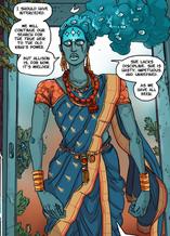 Whitechain sari