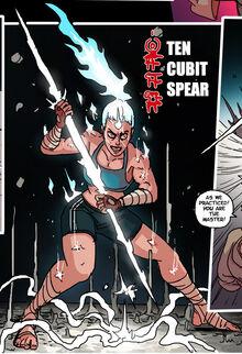 TEN CUBIT SPEAR