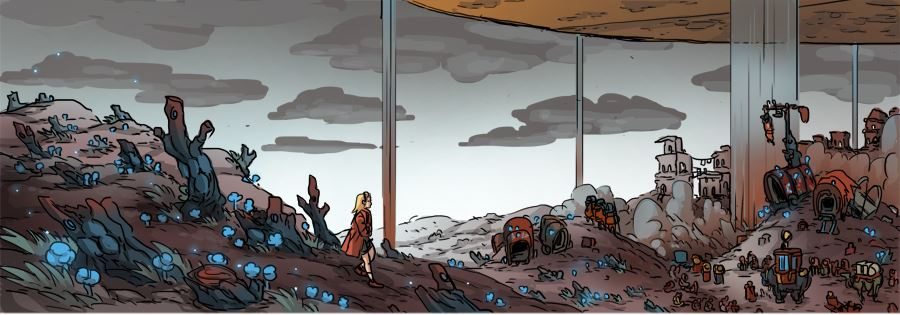 Mykos in ruin