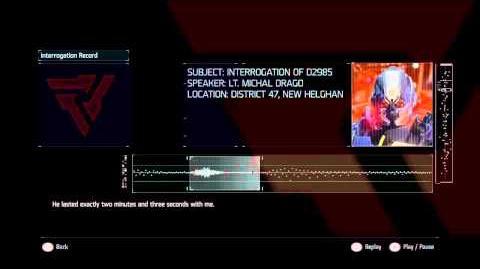 Killzone Shadow Fall Audiolog 14