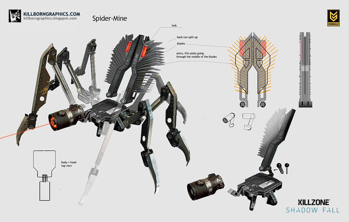 Spider Mine Killzone Wiki Fandom Powered By Wikia