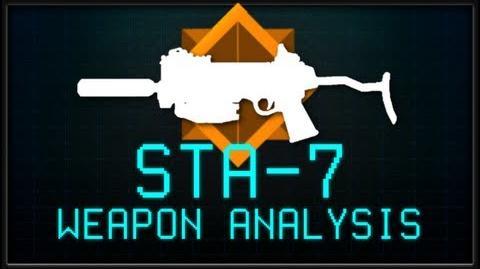 STA-7 Submachine Gun Killzone Mercenary Weapon Analysis