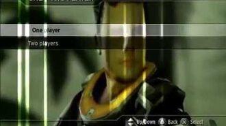 Killzone (PS2) - Main Menu without Music (Glitch)