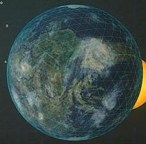 Orbital view of Vekta