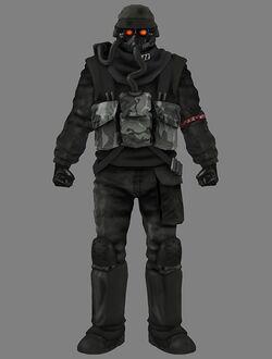 Psp helghast soldier