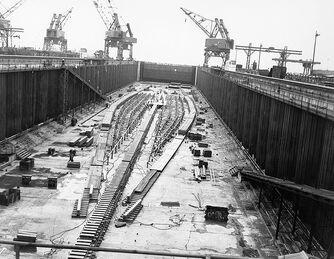 USS Kilroy keel laid