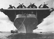 CV-21 Yokusoka bow NAN8-53