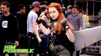 Behind the Scenes Fight Training Kim Possible Disney Channel Original Movie