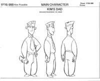 James Possible - Model Sheet