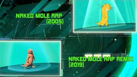 2005 vs. 2019 Naked Mole Rap Kim Possible Disney Channel Original Movie