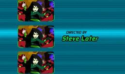 Steve Loter nos Créditos de Abertura