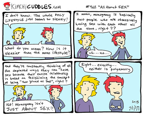 Kimchi Cuddles Comic 462 - All About SEX