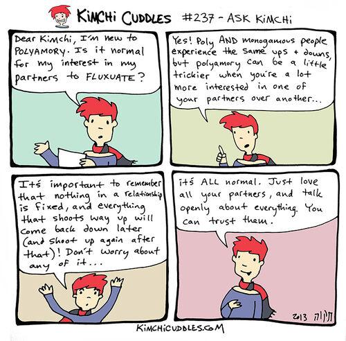 Kimchi Cuddles Comic 237 - ASK KIMCHI