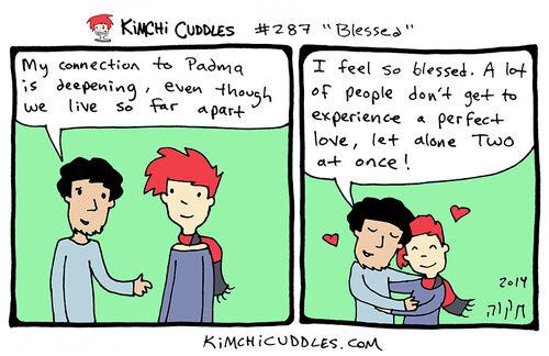 Kimchi Cuddles Comic 287 - Blessed