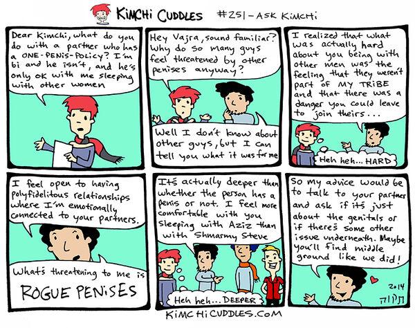 Kimchi Cuddles Comic 251 - ASK KIMCHI