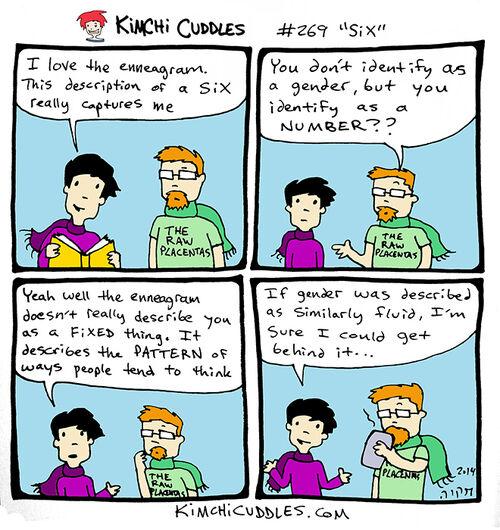 Kimchi Cuddles Comic 269 - Six