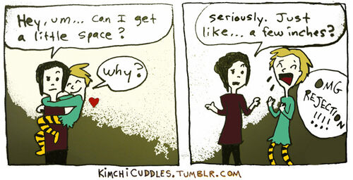 Kimchi Cuddles Comic 3 - Clingy Girlfriend