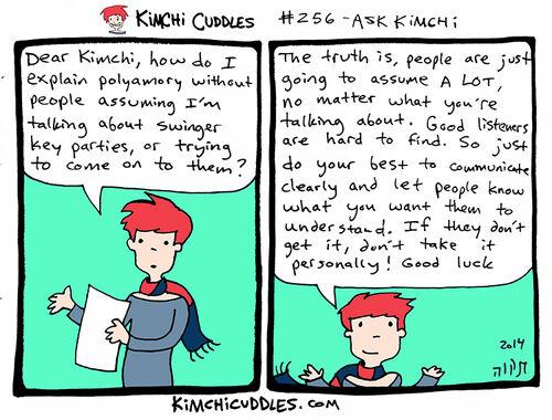 Kimchi Cuddles Comic 256 - ASK KIMCHI
