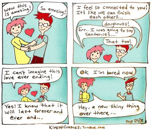 Kimchi Cuddles Comic 7 - Shiny Things