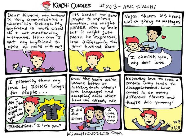 Kimchi Cuddles Comic 263 - ASK KIMCHI
