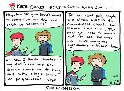 Kimchi Cuddles Comic 282 - What to Watch Out For