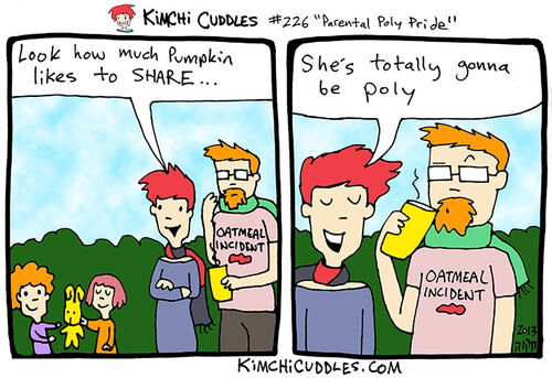 Kimchi Cuddles Comic 226 - Parental Poly Pride