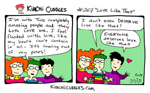 Kimchi Cuddles Comic 267 - Love Like That