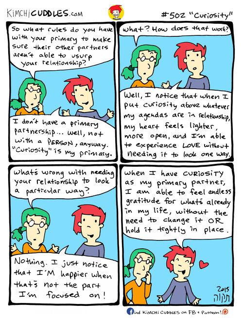 Kimchi Cuddles Comic 502 - Curiosity