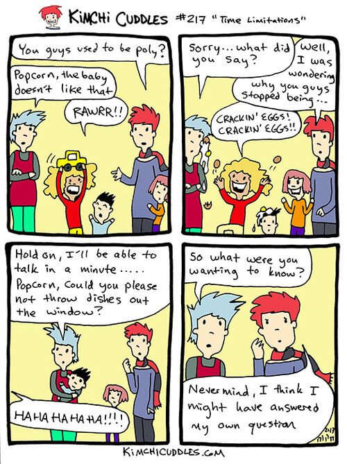 Kimchi Cuddles Comic 217 - Time Limitations