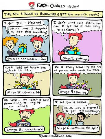 File:Kimchi Cuddles Comic 284 - The Six Stages of Receiving Gifts (for non-gift people).jpg