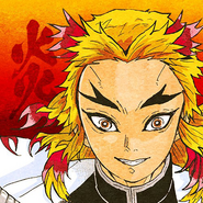 Kyojuro colored profile