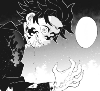 Tanjiro's Demon appearance