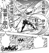 Kanao and Zenitsu attacking Muzan CH190