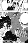 Tanjiro and Kotetsu see Yoriichi Type Zero in action