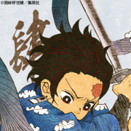 Tanjiro colored profile (Final Selection)
