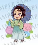 Tanjiro Rainy Season icon
