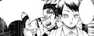 Tanjiro arguing with Yushiro