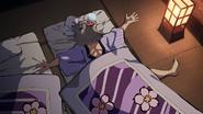 Inosuke falling asleep