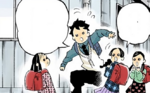 Sumi, Kiyo, and Naho's reincarnation (colored)