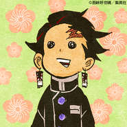 Tanjiro colored profile 13