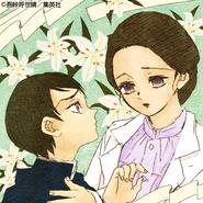 Yushiro and Tamayo colored profile (Kimetsu Academy)