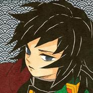 Giyu colored profile 2