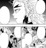 Kyojuro explains the beauty of humanity