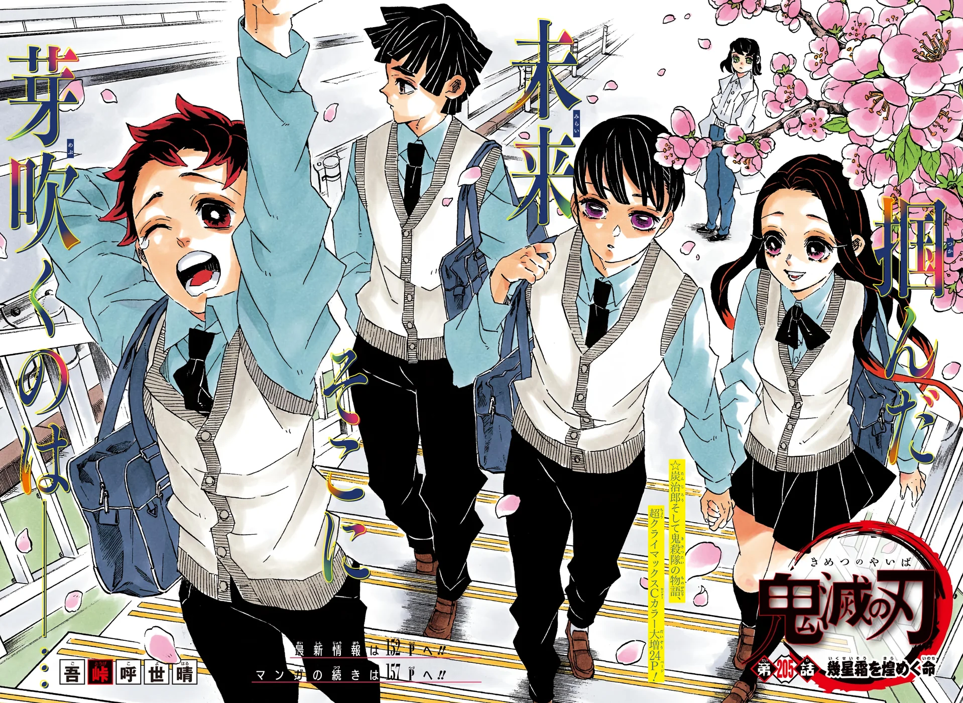 Chapter 205   Kimetsu no Yaiba Wikia   Fandom