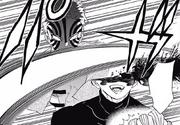 Akaza destroys Doma's head