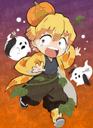 Zenitsu Halloween icon